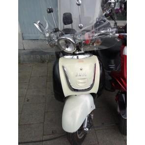 Iva Lux retro Zwart/wit 25km/h