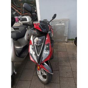 Berini sport rood/zwart 45km/h